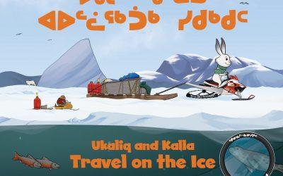 Ukaliq and Kalla Travel on the Ice